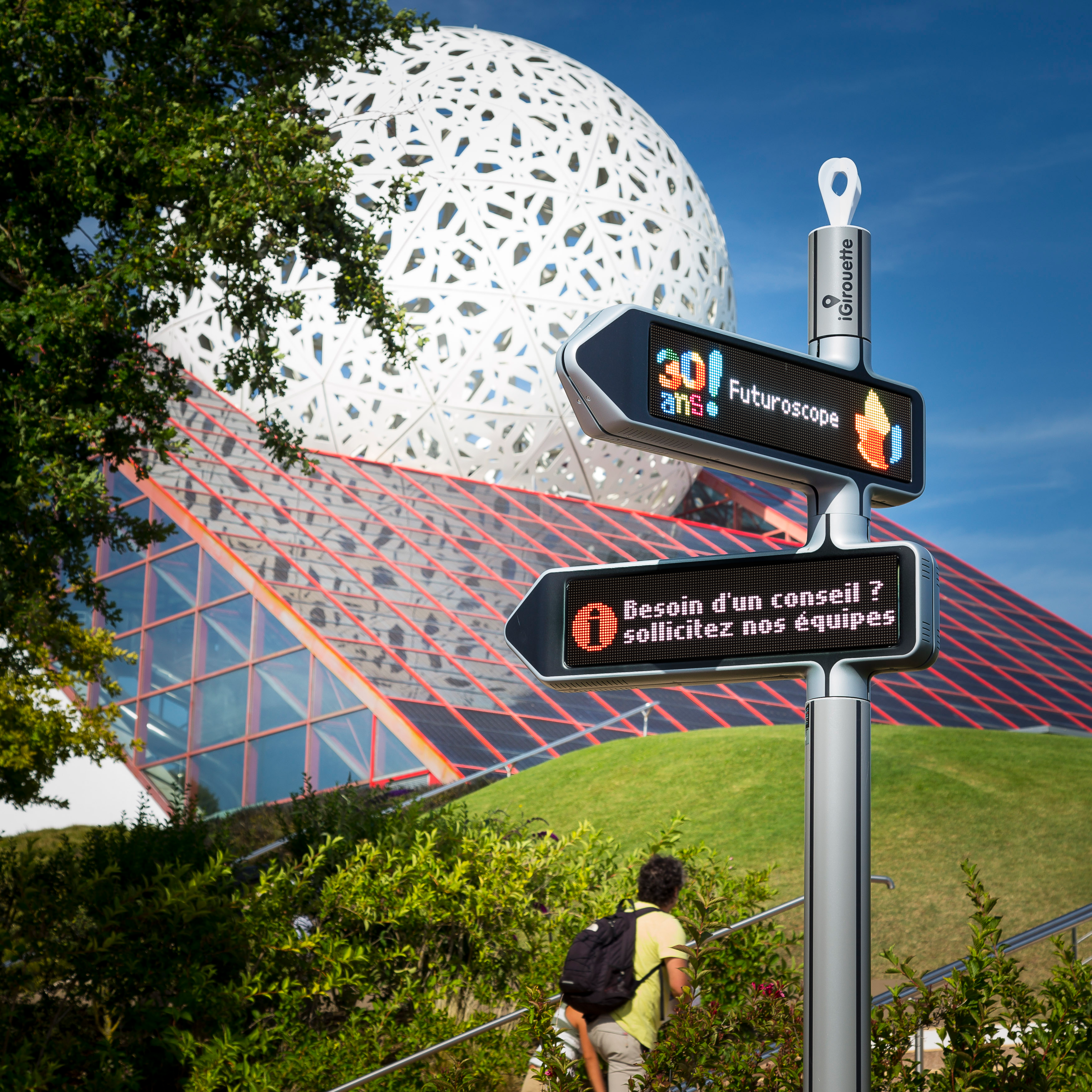 <strong>iGirouette® </strong>au Futuroscope