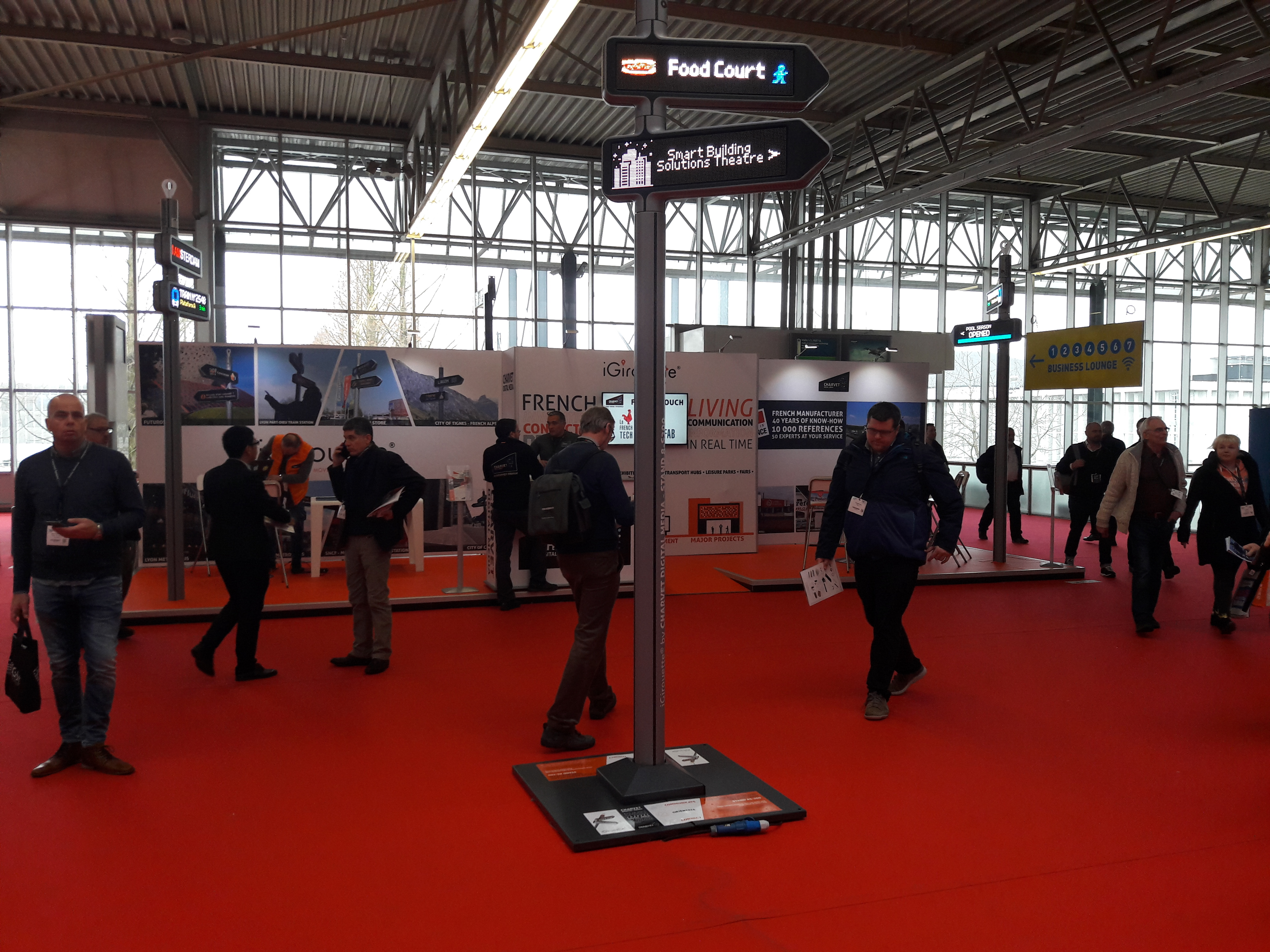 iGirouette au salon ISE (Integrated Systems Europe)