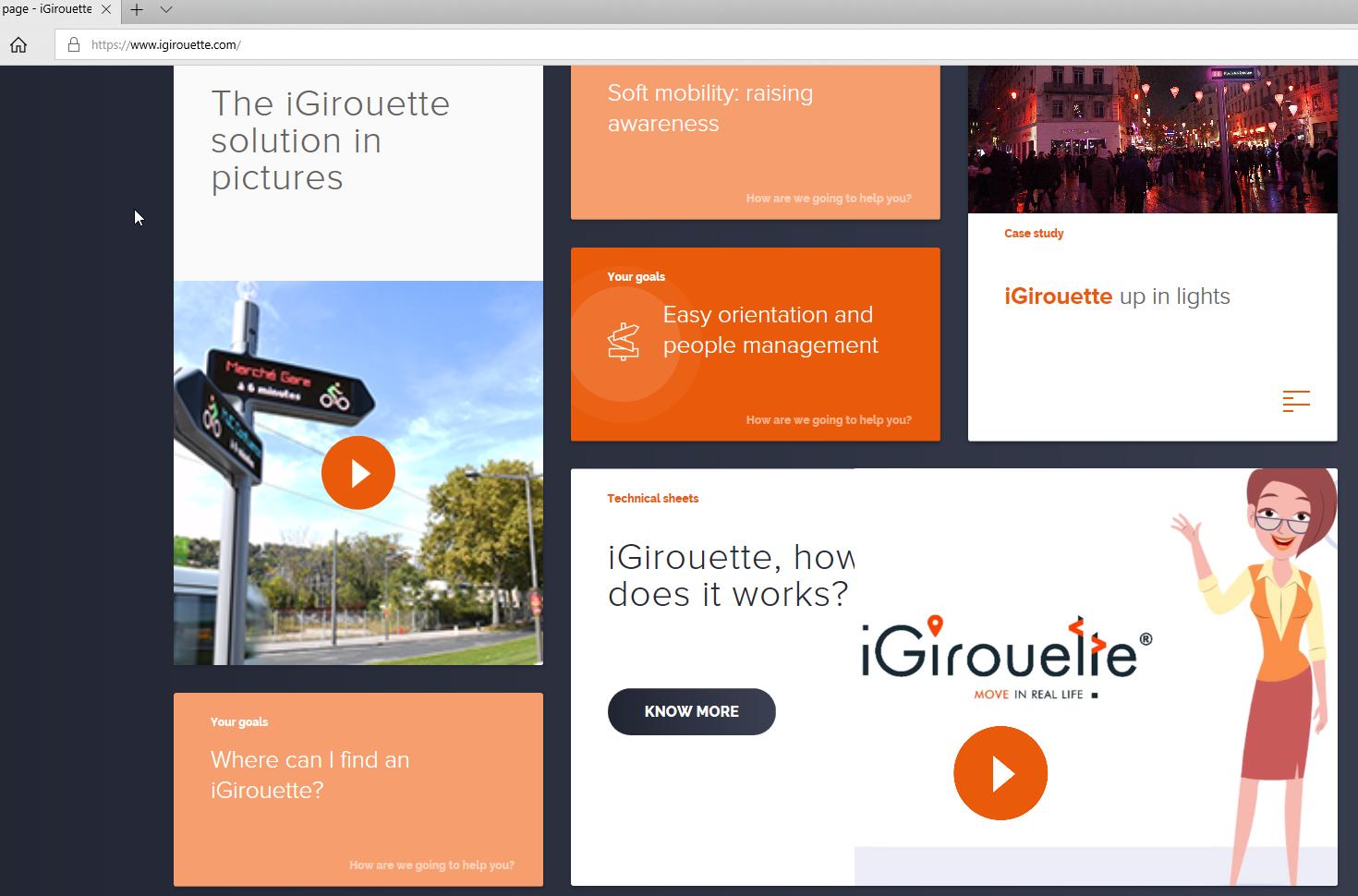 New iGirouette® website