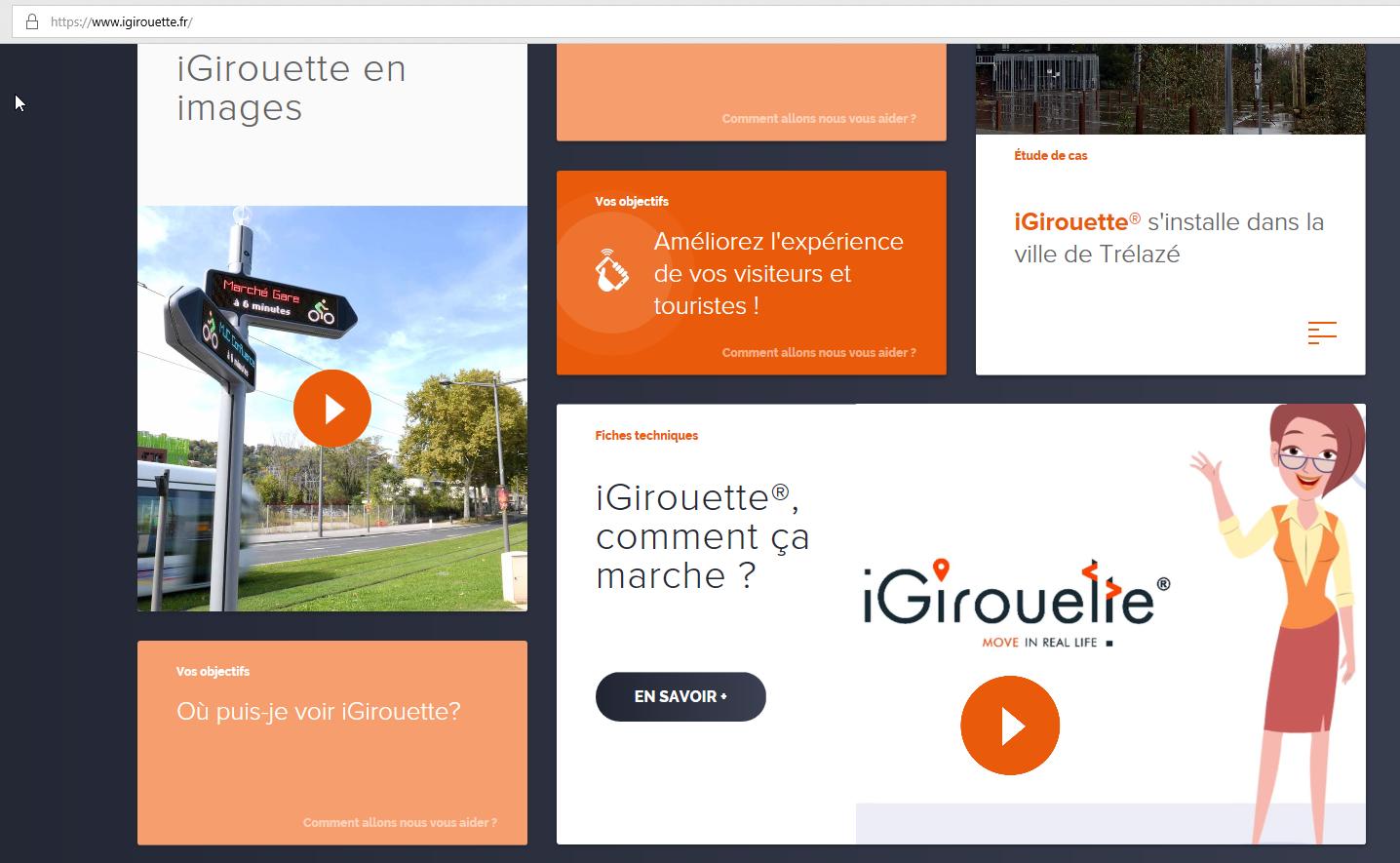 Nouveau site web iGirouette®