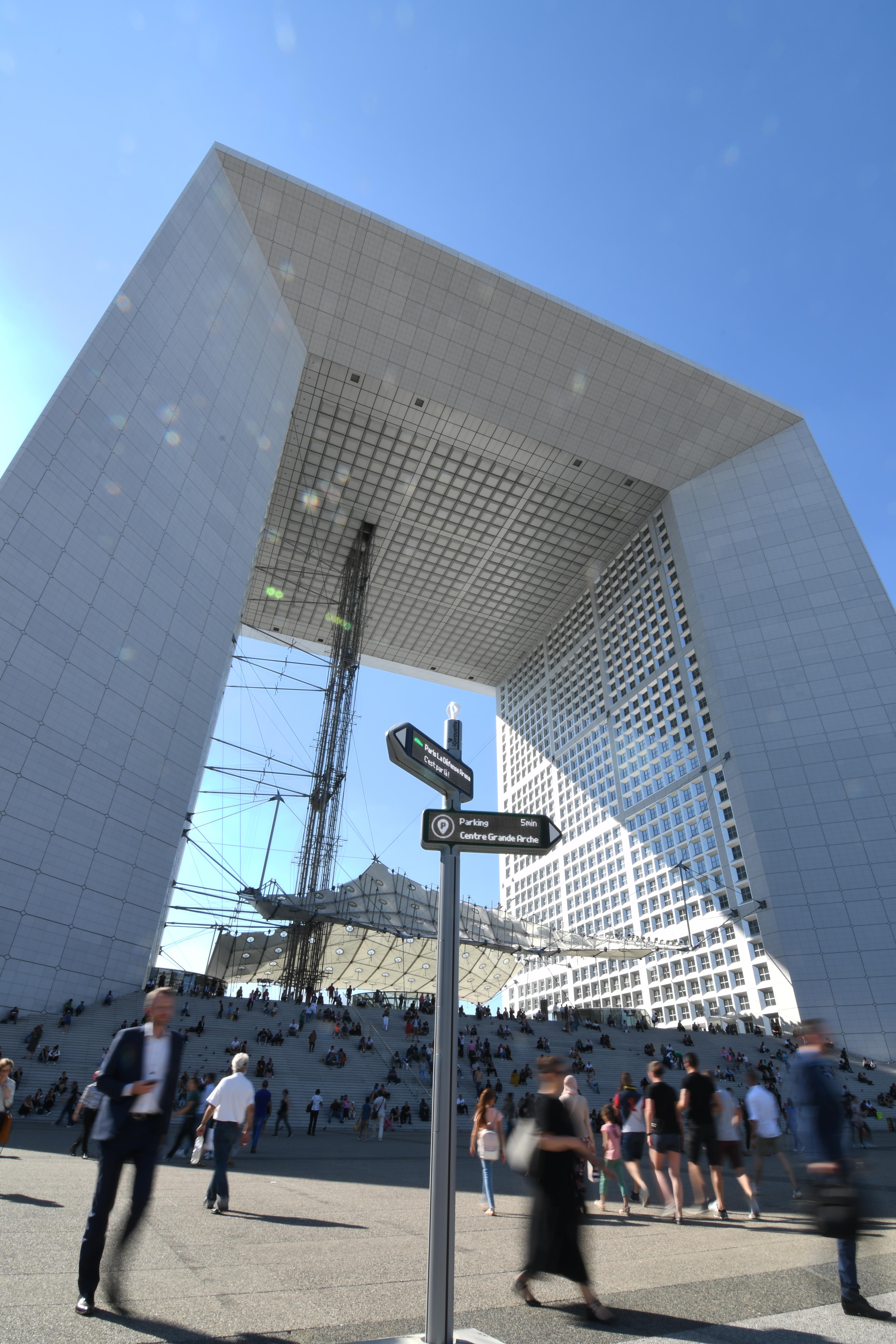<strong>iGirouette®</strong>à Paris La Défense !