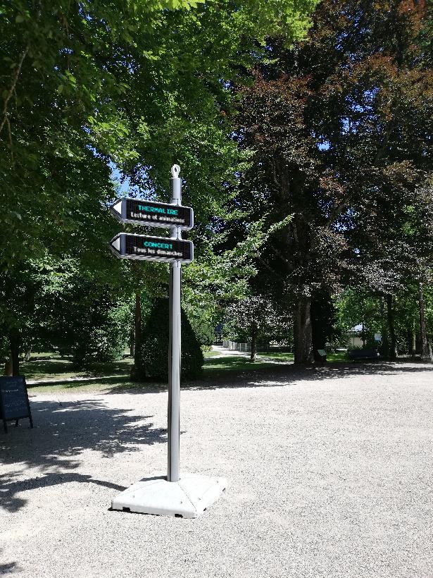 <strong>iGirouette®</strong> dans la ville de Vittel !