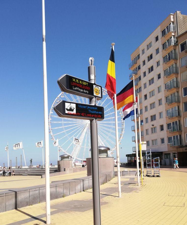 <strong>iGirouette®</strong> sur la côte belge !