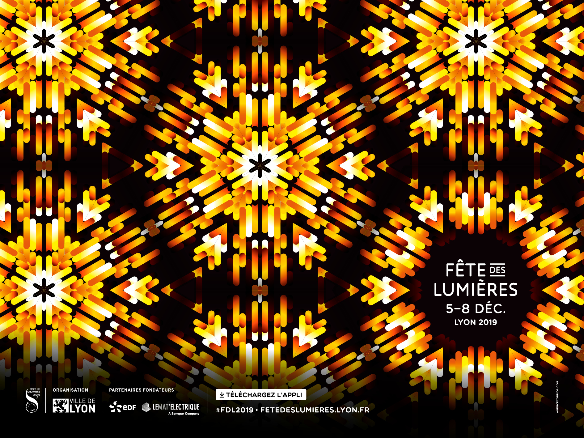 Charvet Digital Media partenaire officiel de la Fête des Lumières à Lyon